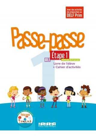 Passe-Passe 1 etape 1 podręcznik + ćwiczenia + CD A1.1