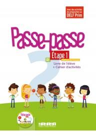 Passe-Passe 2 etape 1 podręcznik + ćwiczenia + CD A1