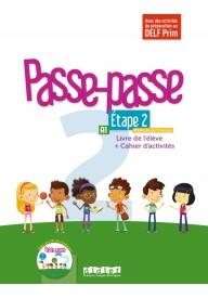 Passe-Passe 2 etape 2 podręcznik + ćwiczenia + CD A1