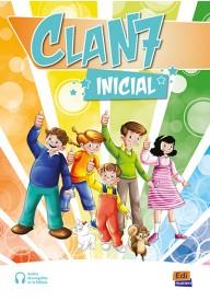 Clan 7 Inicial podręcznik + ćwiczenia + zawartość online