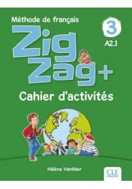 Zig Zag plus 3 A2.1 zeszyt ćwiczeń
