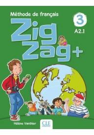 Zig Zag plus 3 A2.1 podręcznik + CD audio