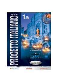 Nuovo Progetto Italiano 1A PW podręcznik + CD audio