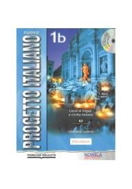 Nuovo Progetto Italiano 1B PW podręcznik + CD audio