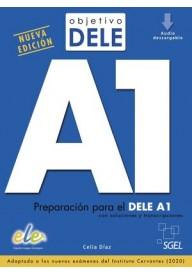 Objetivo DELE A1 nowa edycja podręcznik + zawartość online