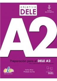 Objetivo DELE A2 podręcznik + zawartość online