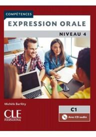 Expression orale 4 + CD audio 2ed. C1