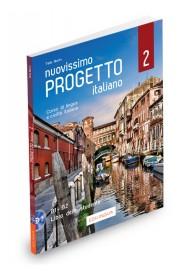 Nuovissimo Progetto italiano 2 podręcznik + DVD B1-B2