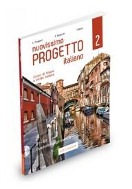 Nuovissimo Progetto italiano 2 ćwiczenia + 2 CD B1-B2