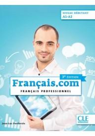 Francais.com debutant 3ed podręcznik+ DVD A1-A2