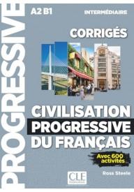 Civilisation progressive du francais intermediaire klucz A2 B1 2ed