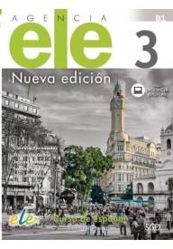 Agencia ELE 3 ćwiczenia nueva edicion