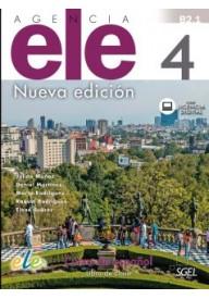 Agencia ELE 4 podręcznik nueva edicion