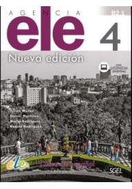 Agencia ELE 4 ćwiczenia nueva edicion