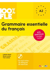 100% FLE Grammaire essentielle du francais A1/A2 książka + CD MP3