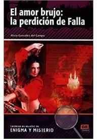 Amor brujo la perdicion de Falla książka