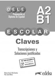 DELE Escolar A2/B1 klucz + zawartość online