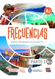 Frecuencias A2.2 podręcznik + zawartość online parte 2