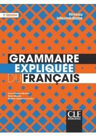 Grammaire expliquee intermediaire książka 2ed