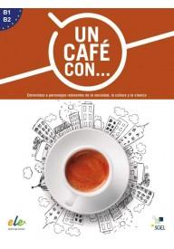 Un cafe con…ksiązka poziom B1-B2