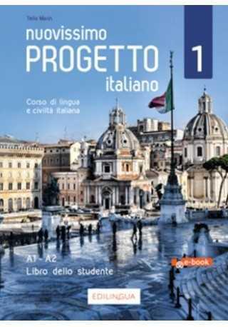 Nuovissimo Progetto italiano 1 ebook podręcznik A1-A2