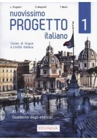 Nuovissimo Progetto italiano WERSJA CYFROWA 1 ćwiczenia A1-A2