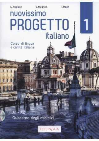 Nuovissimo Progetto italiano 1 ebook ćwiczenia A1-A2