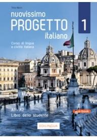 Nuovissimo Progetto italiano 1B ebook podręcznik + ćwiczenia