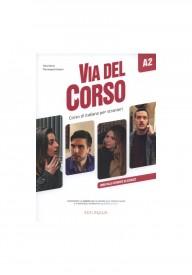 Via del Corso A2 ebook podręcznik + ćwiczenia