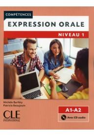 Expression orale 1 2ed książka+ CD poziom A1+A2 /edycja 2016/