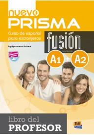 Nuevo Prisma Fusion EBOOK A1+A2 przewodnik metodyczny