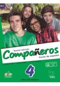 Companeros EBOOK 4 podręcznik + ćwiczenia nueva edicion