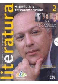 Literatura espanola y latinoamericana EBOOK 2 podręcznik