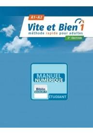 Vite et bien EBOOK 1 A1/A2 podręcznik