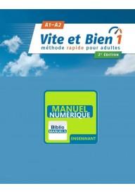 Vite et bien EBOOK 1 A1/A2 przewodnik metodyczny