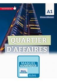 Quartier d'affaires EBOOK podręcznik poziom A1