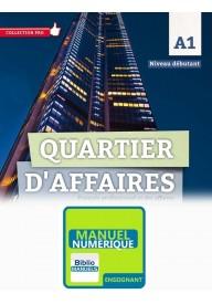 Quartier d'affaires EBOOK zestaw dla nauczyciela poziom A1