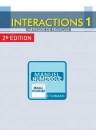 Interactions EBOOK 1 A1.1 2 ed. podręcznik