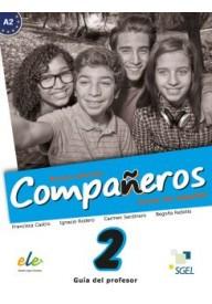 Companeros EBOOK 2 wersja dla nauczyciela nueva edicion