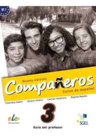 Companeros EBOOK 3 wersja dla nauczyciela nueva edicion