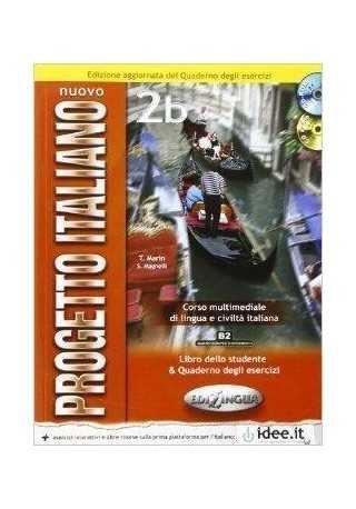 Nuovo Progetto Italiano 2B podręcznik + ćwiczenia + DVD