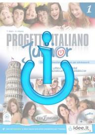 Progetto italiano junior EBOOK 1 ćwiczenia interaktywne