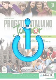 Progetto italiano junior EBOOK 3 ćwiczenia interaktywne