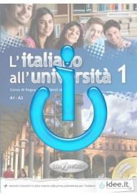 Italiano all'Universita EBOOK 1 ćwiczenia interaktywne idee.it