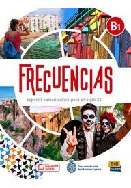 Frecuencias B1 podręcznik + zawartość online