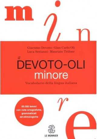 Devoto-Oli minore Vocabolario della lingua italiana książka + DVD-ROM