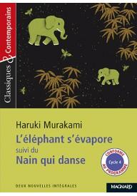 Elephant s'evapore suivi du nain qui danse