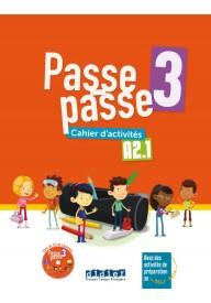 Passe-Passe 3 ćwiczenia A2.1 + CD MP3