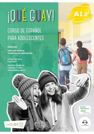 Que guay! A1.2 podręcznik + ćwiczenia