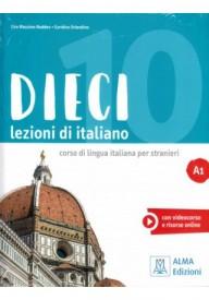 Dieci WERSJA CYFROWA A1 podręcznik wersja dla nauczyciela